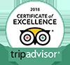 Aeroglobo, certificado de excelencia en TripAdvisor